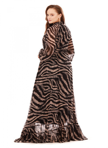 6ixty8ight Abiye Elbise Bej